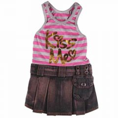 Jeans komplet Kiss Me Pink pink