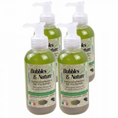 Univerzalni šampon za pse Bubbles & Nature - 4 x 250 ml