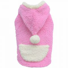DoggyDolly pasji pink pulover s kapuco - DoggyDolly W212