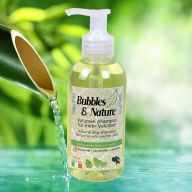 Naravni volumenski šampon za pse Bubbles & Nature z vitaminom F