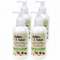 Volumenski balzam za pse Bubbles & Nature - 4 x 250 ml